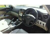 Lexus is220d cream leathers sat nav