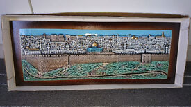 The ceramic tile of the Dome of the Rock