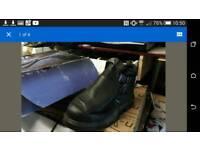 Welder safety boots size 10