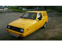 Classic fully restored Reliant robin Rialto van 1986 (full MOT) del boy only fools and horses .