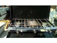 Kampa Alfresco Double Gas Hob and Grill
