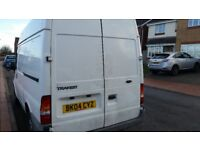 FORD TRANSIT VAN, 12MONTHS MOT, SERVICE HISTORY, CHEAP ON FUEL TAX, GOOD FOR WORK, TIDY £1475ONO