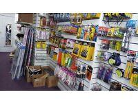 Zeb bargain center £15000 stock includead