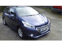 208 active £20 pa tax 13800 miles previous damaged/repaired drives as new mot April 2018