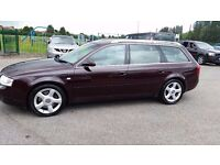 AUDI A6 AVANT AUTOMATIC DIESEL,FULL SERVICE HISTORY,AND CAM BELT DONE ,VERY WELL LOOKED AFTER CAR