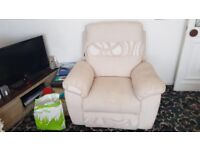 Scs sofa and 2 chairs, bought in October, barely used, no marks, smoke & pet free home