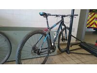 Cannondale SL 29er single speed mountain bike size large