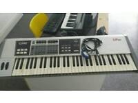 Cme uf60 midi (and widi) controller + maudio uno interface