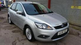 Ford Focus titanium 08 plate diesel full service history