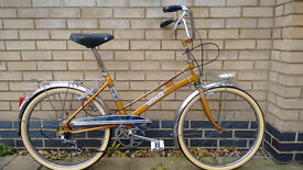 RARE Olympic Sport 3 speed Bicycle - Vintage - Excelent Chrome Condition - New Tyres - 42cm Frame
