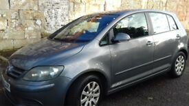 GOLF PLUS DIESEL 1.8 FULL YEAR MOT EXCELLENT CONDITION DRIVES REALLY WELL IDEAL FAMILY CAR NO RUST!