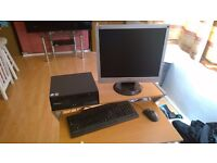 Lenovo ThinkCentre (2008), Windows XP Pro + Monitor + Keyboard/Mouse