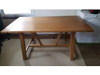 Dining table! 160cm x 90cm x 75cm tall.