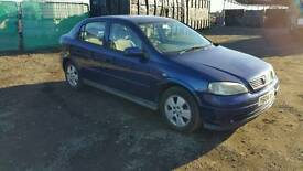 2004 Vauxhall astra 5dr