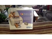 Epson photo printer, brand new never been used still original packaging, bought as a present