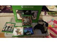 Xbox one 500gig with 2tb external hdd
