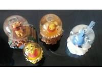 Winnie Pooh Snow Globes
