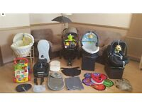 Quinny Moodd Pushchair Pram Stroller Maxi Cosi Car Seat With Base Travel System & Lots More Bargain