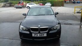 BMW 3 Series, 318i SE, VERY LOW MILEAGE, Black, ex condition
