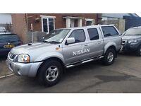 Nissan navara diesel pick up truck 4x4