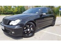 Mercedes C180 K Estate,Avangarde,Long MOT,Gas/LPG,Cheap to Run,Stunning car
