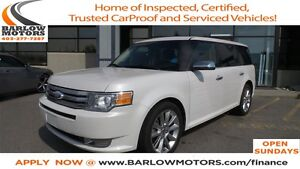 2010 Ford Flex Limited   LEATHER   MOONROOF\SUNROOF