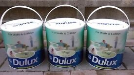DULUX Luxurious Silk Paint 2.5L BRAND NEW & UNOPENED (3 Tins) Green