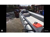 3.8m RIB boat