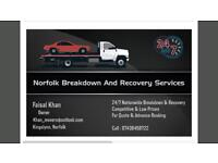 24/7 ***CHEAP*** Breakdown and Recovery Service Nationwide