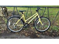 """Ladies Mountain Bike Bicycle. Fully Serviced, Guaranteed & Ready To Ride. 17"""" Frame. Mudguards"""