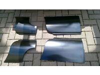 MGB gt repair 1/4 panel front wing N/S