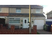 3 bed extended property