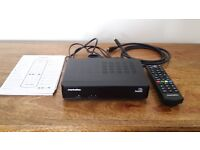 NOW SOLD Manhattan Freesat Box (Complete Like new)