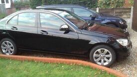 Mercedes C Class 280 in Black