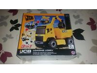 JCB Construction Recycling and Lorry Playsets – brand new sealed