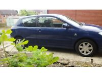 Toyota Corolla. FSH excellently maintained. 5 months tax. Lovely car perfect runner. £550.00