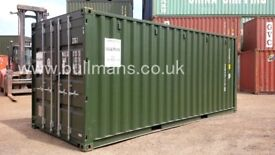 Shipping containers - 20ft new build insulated and ply lined - self storage grade