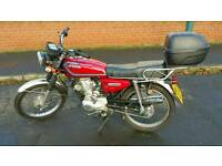 Hongdou Shenda 125cc Motorcycle - This is a Honda CB125 Lookalike