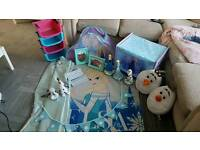 huge girls frozen theme bedroom set