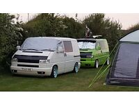 vw t4 transporter, low miles, full professional conversion