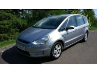 2008 Ford S-Max Zetec 1.8 Tdci 7 seater 12 mth MOT New timming belt & clutch low milage