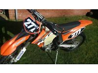 ktm xcf 250 motocross enduro bike not crf ymz rmz
