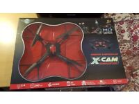 Drone - Remote Controlled X-Cam Quadcopter with HD Camera,