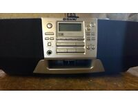 Sony CFD S38L Portable Stereo, CD, Tuner, Cassette