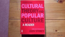 Cultural Theory and Popular Culture book ISBN: 978-1-4058-7421-2 £25.00