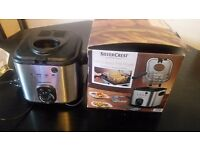 Silvercrest mini deep fat fryer