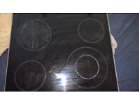 Ikea electric ceramic hob has touch