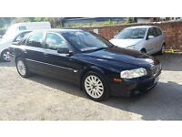 2005 VOLVO S80 SE AUTOMATIC 2.4 DIESEL BLUE 5 DOOR FULL LEATHER 69,000 MILES FULL SERVICE HISTORY