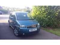 Audi A2 1.4 SE 5dr£1,500 p/x welcome NEW MOT, JUST SERVICED!
