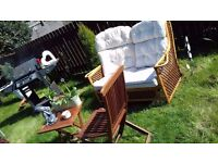 2 seat garden sofa